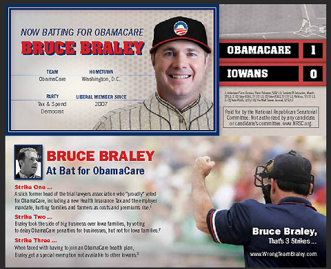 Braley Walk Card