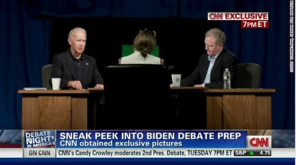 Joe Biden Debate Prep