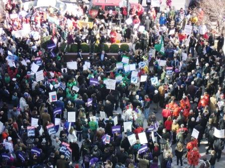 Unionprotest