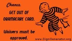 Get Out of ObamaCare Free Card
