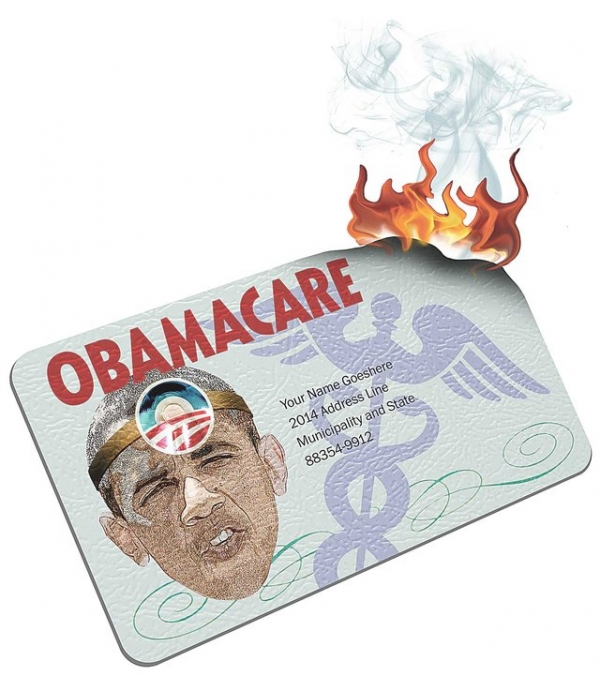 Burn Your ObamaCare Card