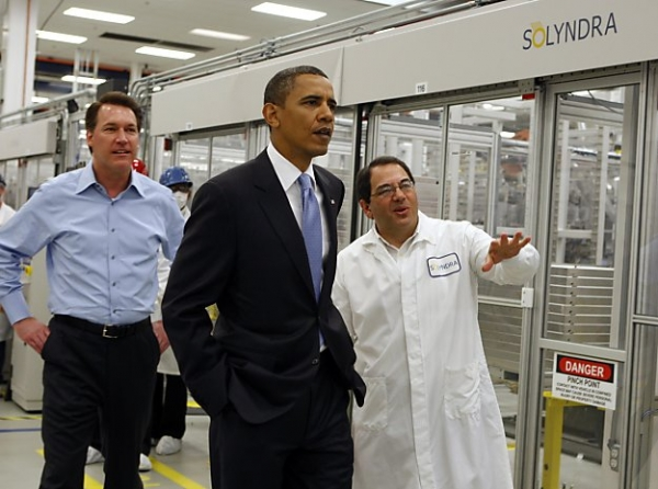 Obama and Solyndra