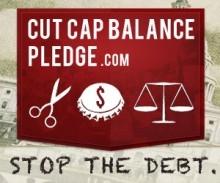 Stop the Debt - Sign the Cut Cap Balance Pledge