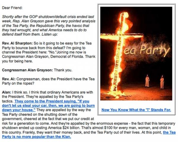 Tea Party KKK