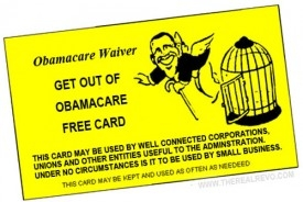 Obamacare Waiver