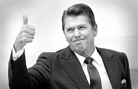 Reagan Thumbs Up