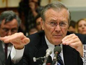 Rumsfeld Knife Hand