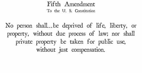 preserving the fifth amendment is the key to civil asset forfeiture